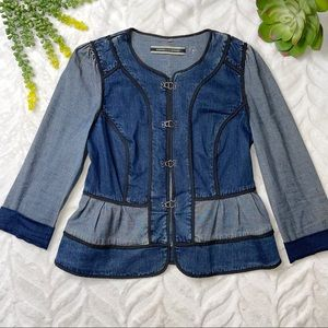 Anthro Daughters of the Liberation Denim Jacket